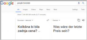 Google translate oz. prevajalnik