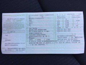 Nemško prometno dovoljenje oz. Brief