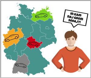Pot v Nemčijo