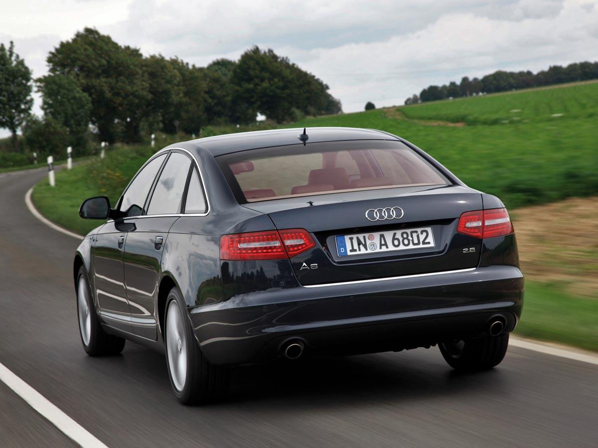 Facelift zadaj Audi A6