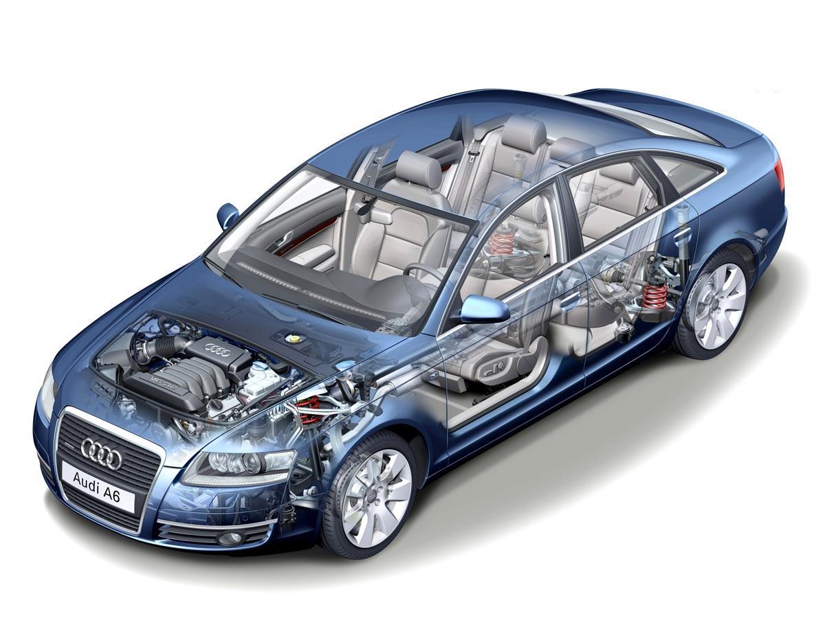 Audi A6 podrobnejši izgled vozila