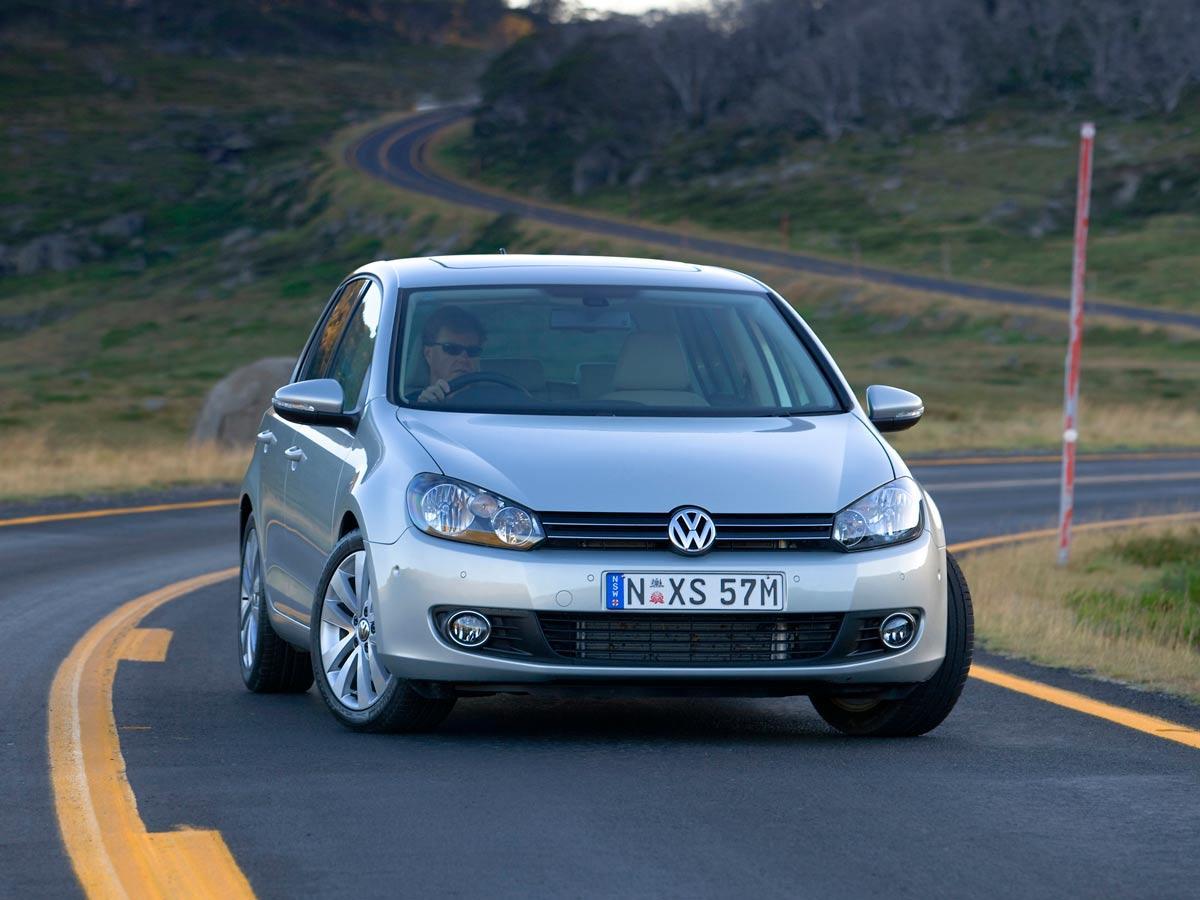 Volkswagen Golf 6 na cesti